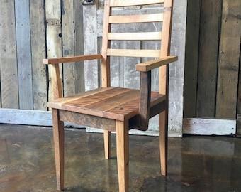 farmhouse dining chair with arms