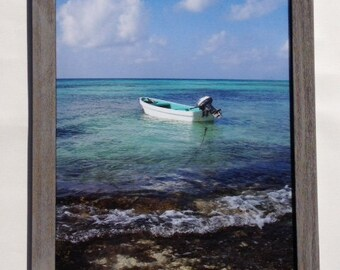 Real Photo Print Classic Frame Photography CRAMD Photographer Beautiful Pictures Photos Art Home Decor Furnishing Gift Beach Ocean Boat