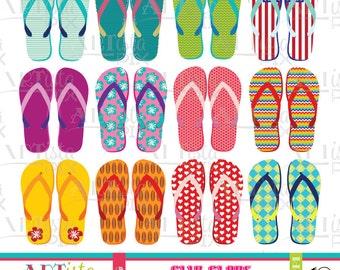 Flip Flop Clipart, Flip flop graphics, flip flop images, sandals, beach, pool, summer clipart