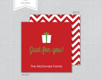 Holiday Gift Tags ~OR~ Stickers