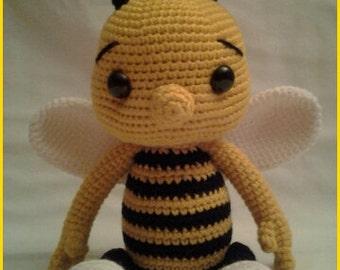 PATTERN - Baby Bee Bumble - Crochet Amigurumi Pattern