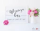 Mimosa Bar Sign. Mimosa Bar Printable. Wedding Drink Sign. Wedding Print. Wedding Printables. Wedding Signage. DIY Wedding. Wedding Signs.