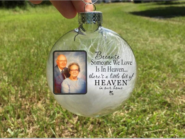 Personalized Christmas ornaments-photo Christmas