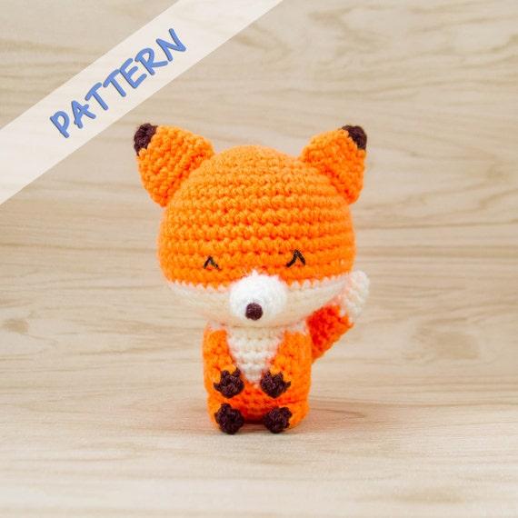 Amigurumi Fox : Fox crochet pattern amigurumi stuffed animal