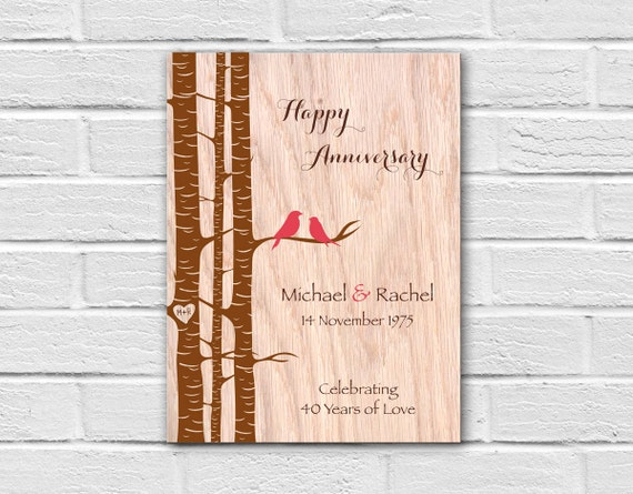 Unique Parent Wedding Gift Ideas: 40th Anniversary Gift For Parents Unique Parents Gift Ideas