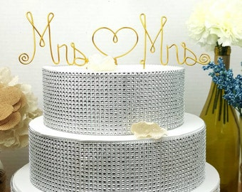 Wire Cake Topper Etsy