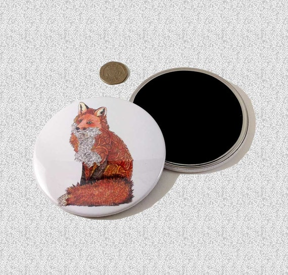 Fox Gifts For Women On Sale Kitchen Decor Fox Fridge Magnet
