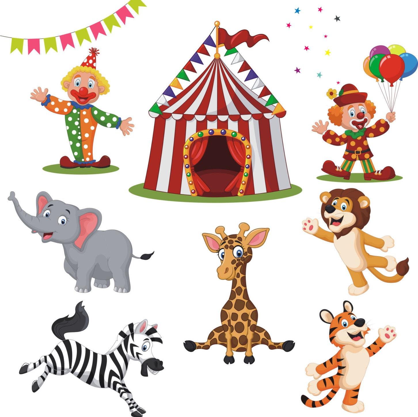 Circus clipart circus vector circus clip art clowns - Clipart carnaval ...