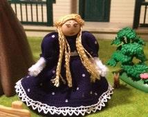 Goldilocks Pipe Cleaner Doll