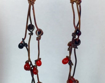 The Connect the Dots Earrings - Discover Torch Enameling