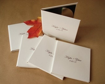 5 Custom DVD Covers / CD Cases / DVD Sleeve. Wedding Photo Covers. Wedding Photography Packaging.
