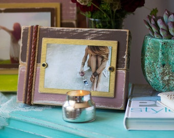 Distressed Picture Frame | Distressed | Wood Picture Frame