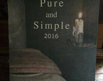 2016 Calendar Pure and Simple