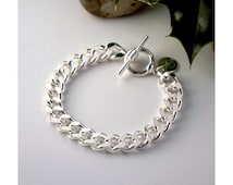 Chain Bracelet, silver plated