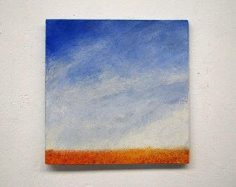 original painting, landscape, wall art, abstract painting, Small Art, wall hanging,