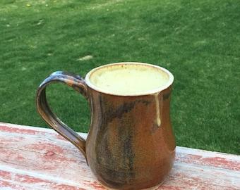 Wheel Throwen Ceramic Mugs
