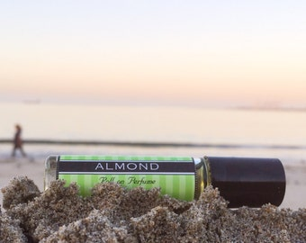ALMOND || Roll on Perfume || Birthday gift || Long lasting perfume || vegan perfume ||