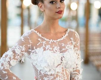 Peach Wedding Dress As Alternative Wedding Gown Bridal Dress