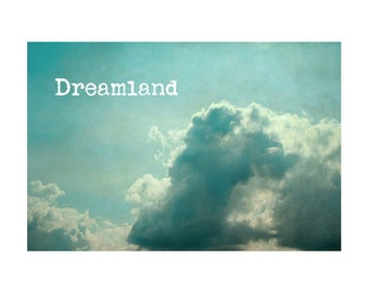 Bedroom Art, Fine Art Photography, Mint Green Art, Cloud Photography, Bedroom Decor, Shabby Chic Photography, Dreamy Bedroom Photography