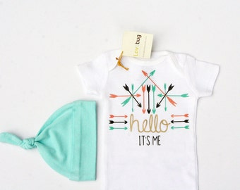 Tribal baby clothes