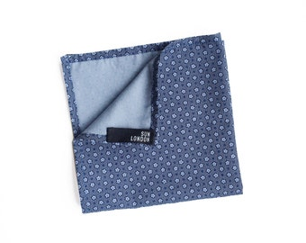 David Ditsy Floral Pocket Square, Men's Handkerchief