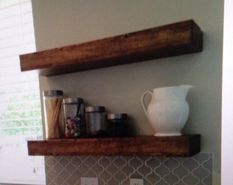 Floating shelves, reclaimed wood floating shelves,floating shelf,reclaimed wood shelves,rustic floating shelf,home decor,wall shelf,shelving