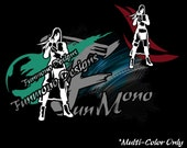 Tifa Lockhart Vinyl Decal (FFVII Advent Childern Series) *Multi-Color Version* featured image