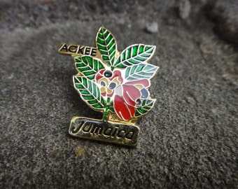 Vintage Small JAMAICA Small Pin Small Brooch Pendant