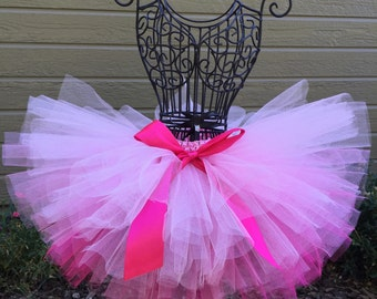Pink Ombre Tutu, Pink Baby Tutu, Hot Pink Tutu, Light Pink Tutu, Infant Tutu, Newborn Tutu, Baby Tutu, Toddler Tutu, Birthday Tutu, Princess