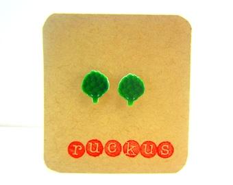 Artichoke Stud Earrings, Artichoke Jewelry, Vegetable, Vegetarian, Healthy Eating, Food, Veggie, Miniature Food, Kitschy Gift, Accessories