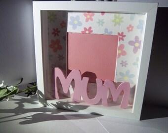 MUM picture frame