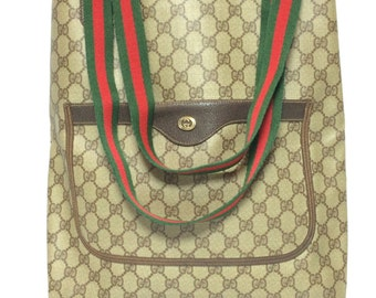 Authentic Vintage Old Gucci Tote Bag