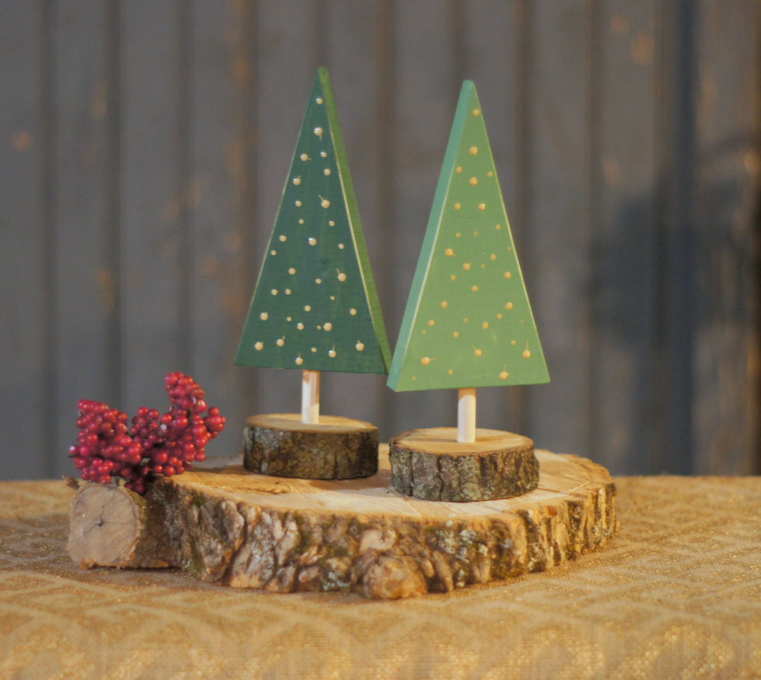 Christmas Tree From Wood: Wooden Tree Rustic Christmas Tree Decor By GFTWoodcraft On