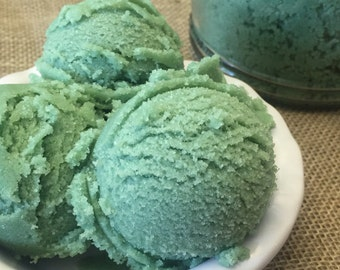 Green Apple Body Polish, Sugar Scrub, Green Apple, Spa, Gift for Her, Moisturizing, Hydrating, Exfoliating