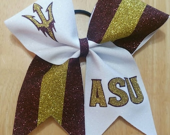 ASU cheer bow