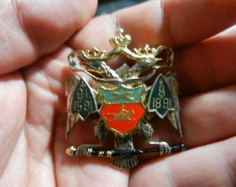 Imperial Russian Regimental Badge Replica