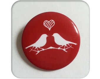 "Badge ""Birds"" - set of 5"
