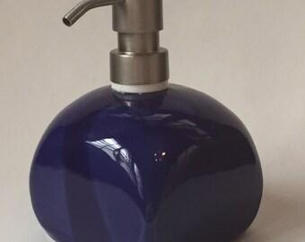 Cobalt Blue Soap Dispenser
