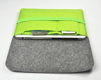 "iPad Pro 12.9"", Macbook Pro Case, Macbook Air 13 Case, Macbook Pro 13 Sleeve, Laptop Bag 13 inch, Felt Bags, attaché case, 1A80"