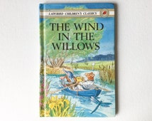 1983 Ladybird Children's Classics Book, The Wind in the Willows, Vintage Children's Book, 00062