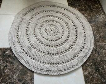 Crochet rug, crochet carpet
