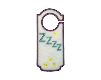 "Fancy Felt Door Hangers - ""Zzzzzz"""