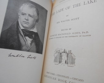 Lady of the Lake. Sir Walter Scott. 1904. Hardcover.