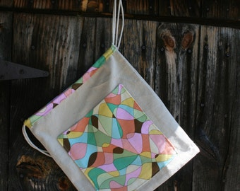 Mosaic Canvas Back Pack