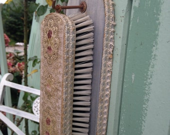 Vintage French Embroidered Clothesbrush