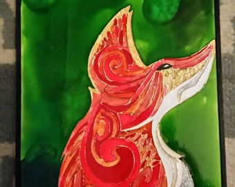 Henna Fox Pebeo Painting