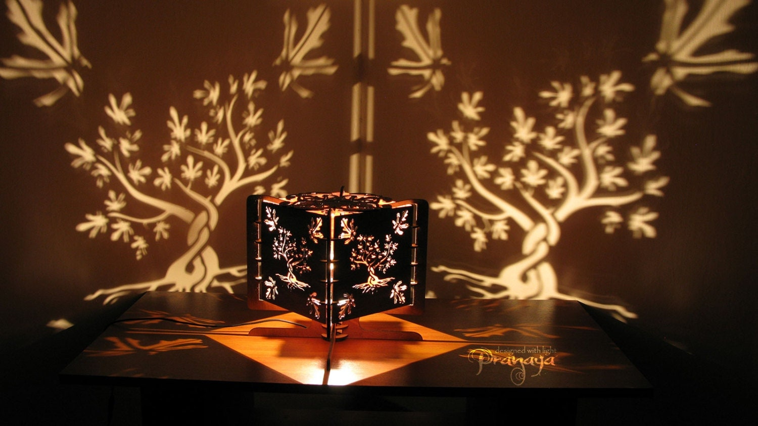 Tree Shadow Lamp – Mwk Designs Within Shadow Lamps | Interior ...