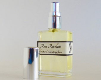 Rose Repellent-Elegant mosquito perfume, Rose scented bug repellent, Natural Mosquito Spray, Rose Perfume, Aromaflage, Money Back Gurantee!