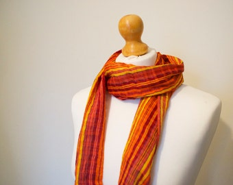 Striped Scarf for Women