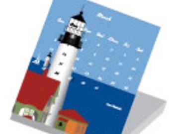 2016 Maine Jewel Case Calendar